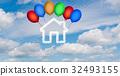 เมฆ,ท้องฟ้า,บ้าน 32493155