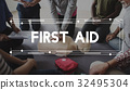 CPR Training Demonstration Class Emergency Life Rescue 32495304