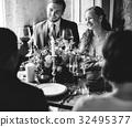 adult, bride, cake 32495377