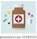 capsule medical pill 32495554