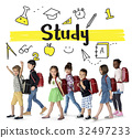 School Institute Study Learning Concept 32497233