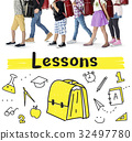 School Institute Study Learning Concept 32497780