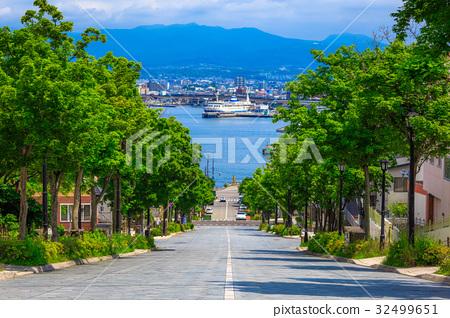 Hokkaido Hakodate Yawatazaka 32499651
