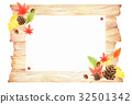 가을의 나뭇결 배경 32501342