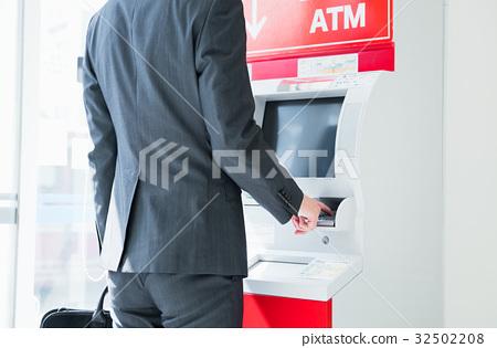 自动柜员机 超高速缓存 商务人士 32502208