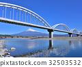 水管橋和富士山 -  60126 32503532