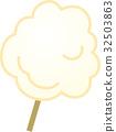 cotton candy vector 32503863