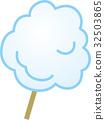 cotton candy vector 32503865
