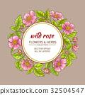 flower, vector, wild 32504547