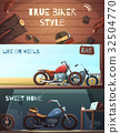 Roadster Motorcycle Banners Set 32504770