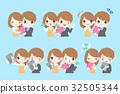cartoon, character, couple 32505344