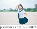 นักเรียนมัธยมปลาย,เด็กผู้หญิง,ฤดูร้อน 32506876
