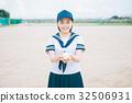 ลูกเบสบอล,นักเรียนมัธยมปลาย,ฤดูร้อน 32506931