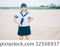 นักเรียนมัธยมปลาย,ลูกเบสบอล,เด็กผู้หญิง 32506937