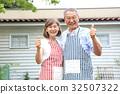 年長 夫婦 一對 32507322