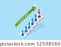 chess pieces represent career growth, career path 32508560