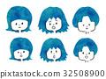 헤어스타일, 머리 스타일, 머리카락 32508900