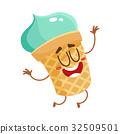 ice, cream, character 32509501