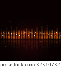 Abstract Sound Equalizer 32510732