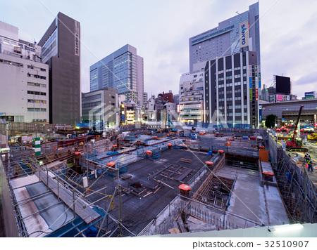 Shibuya redevelopment 32510907