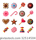 candy, vector, chocolate 32514504