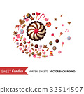 candy, vector, chocolate 32514507