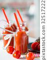 Natural tomato juice 32517222