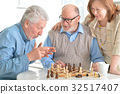 men playing chess 32517407