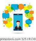 smart, phone, speech 32519130