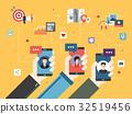 smart phone mobile 32519456