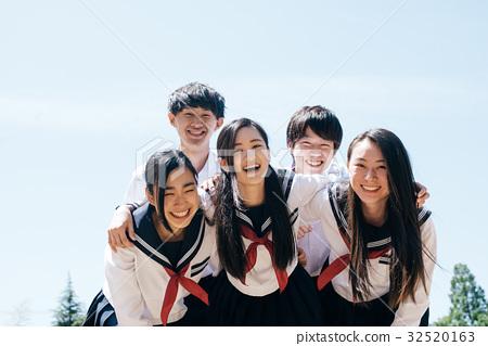 고등학생들 32520163