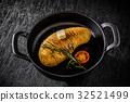 土豆 馬鈴薯 迷迭香 32521499