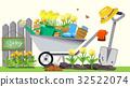 Beginning of basic gardening. Holiday activities. 32522074