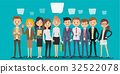 People creating business in cartoon style. 32522078