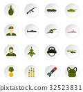 war, military, icons 32523831