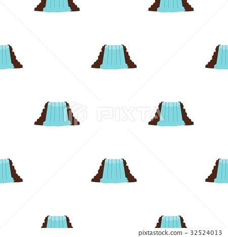 Niagara Falls, Ontario, Canada pattern seamless 32524013