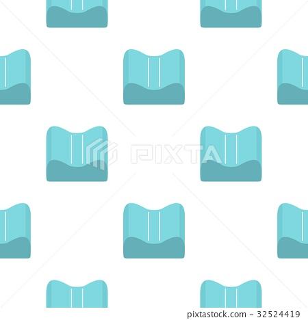 Orthopedic pillow pattern seamless 32524419