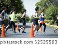 marathon runner, runner, runners 32525593
