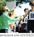 person, marathon, water supply 32525625