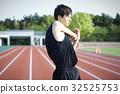 runner, runners, stretching 32525753
