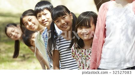 森林学校小学生 32527083