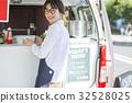 廚房車工作女士 32528025