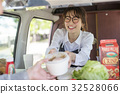 Kitchen car lunch Female guest 32528066