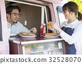 廚房車午餐熱狗銷售 32528070