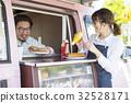 廚房車午餐熱狗銷售 32528171