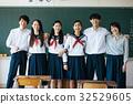 高中学生在教室里 32529605