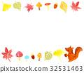 Autumn plant frame 32531463