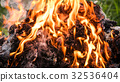 fire and frame texture background 32536404