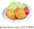 ภาพประกอบอาหารสีน้ำ 32537889