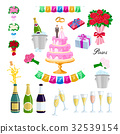 wedding cake vector 32539154